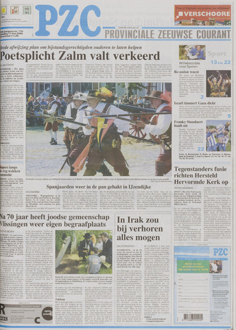Provinciale Zeeuwse Courant 2004-05-17