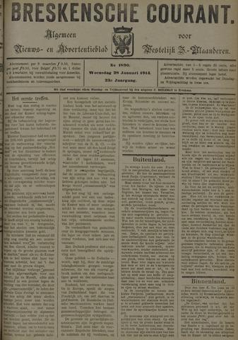 Breskensche Courant 1914-01-28