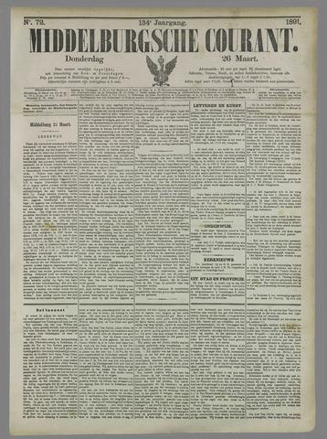 Middelburgsche Courant 1891-03-26