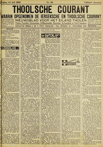 Ierseksche en Thoolsche Courant 1933-07-14