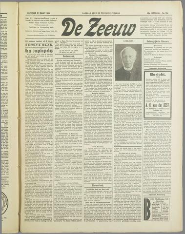 De Zeeuw. Christelijk-historisch nieuwsblad voor Zeeland 1934-03-31