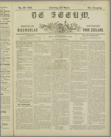 De Zeeuw. Christelijk-historisch nieuwsblad voor Zeeland 1901-03-23