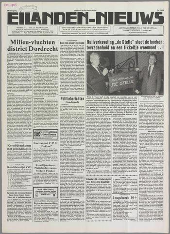 Eilanden-nieuws. Christelijk streekblad op gereformeerde grondslag 1985-12-10