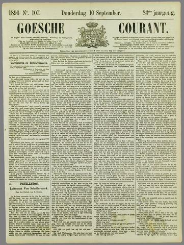 Goessche Courant 1896-09-10