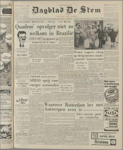 de Stem 1961-08-28