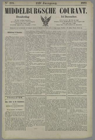 Middelburgsche Courant 1882-12-14