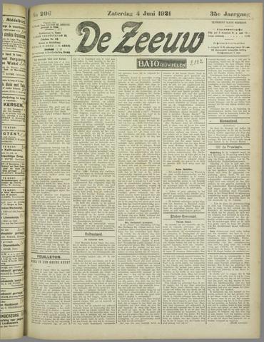 De Zeeuw. Christelijk-historisch nieuwsblad voor Zeeland 1921-06-04