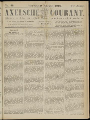Axelsche Courant 1916-02-09