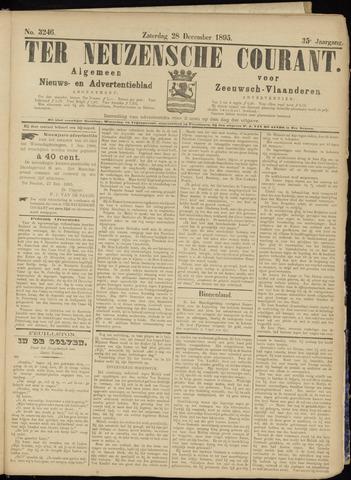 Ter Neuzensche Courant. Algemeen Nieuws- en Advertentieblad voor Zeeuwsch-Vlaanderen / Neuzensche Courant ... (idem) / (Algemeen) nieuws en advertentieblad voor Zeeuwsch-Vlaanderen 1895-12-28