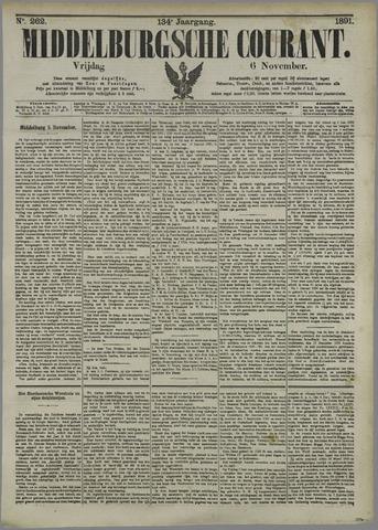 Middelburgsche Courant 1891-11-06