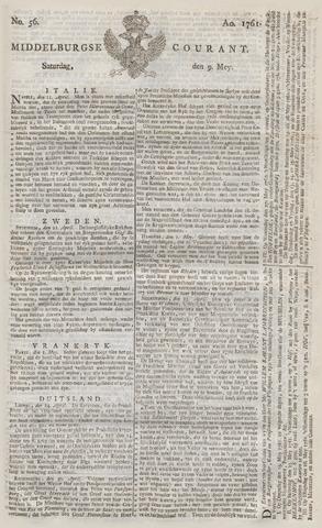 Middelburgsche Courant 1761-05-09
