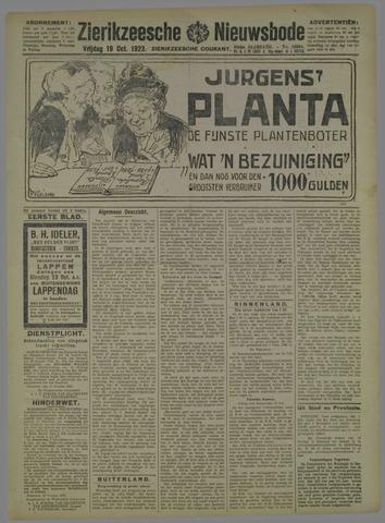 Zierikzeesche Nieuwsbode 1923-10-19