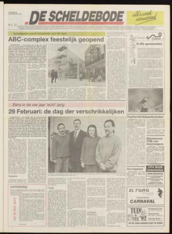 Scheldebode 1992-02-26