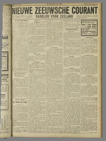 Nieuwe Zeeuwsche Courant 1920-07-20