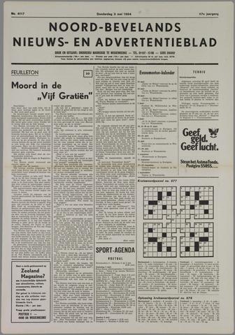Noord-Bevelands Nieuws- en advertentieblad 1984-05-03