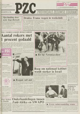 Provinciale Zeeuwse Courant 1984-07-26