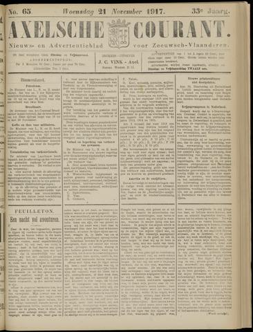 Axelsche Courant 1917-11-21