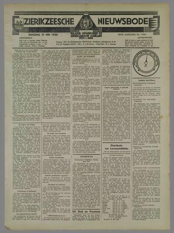 Zierikzeesche Nieuwsbode 1940-05-21