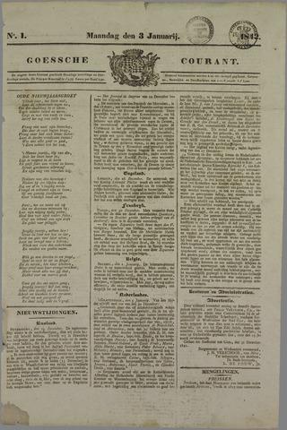 Goessche Courant 1842