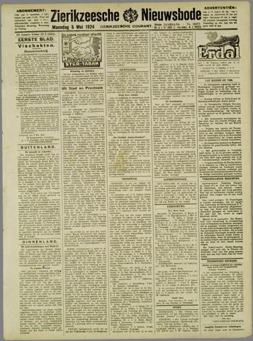 Zierikzeesche Nieuwsbode 1924-05-05
