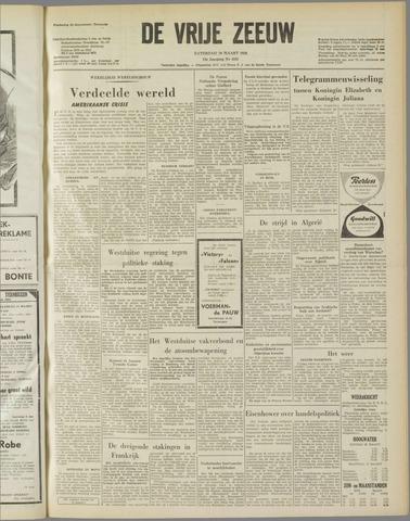 de Vrije Zeeuw 1958-03-29