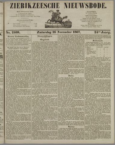 Zierikzeesche Nieuwsbode 1867-11-16
