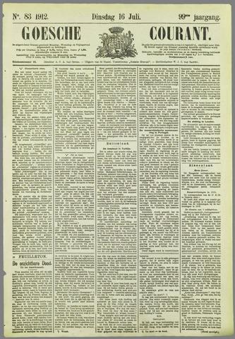 Goessche Courant 1912-07-16