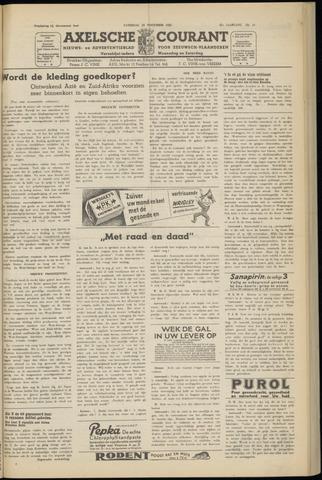 Axelsche Courant 1952-11-15