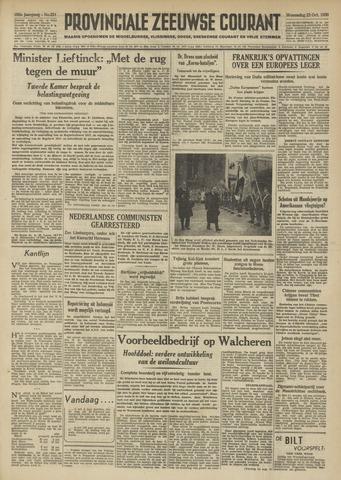 Provinciale Zeeuwse Courant 1950-10-25