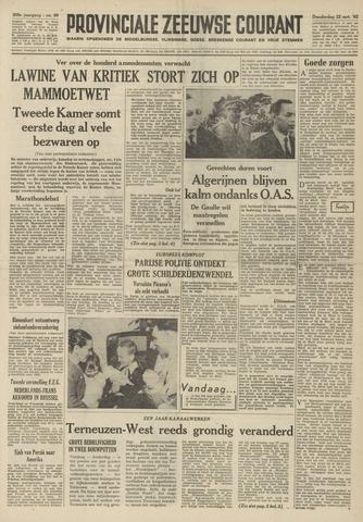 Provinciale Zeeuwse Courant 1962-03-22