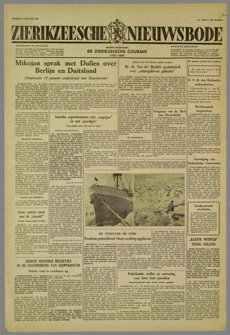 Zierikzeesche Nieuwsbode 1959-01-06