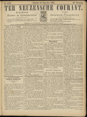 Ter Neuzensche Courant. Algemeen Nieuws- en Advertentieblad voor Zeeuwsch-Vlaanderen / Neuzensche Courant ... (idem) / (Algemeen) nieuws en advertentieblad voor Zeeuwsch-Vlaanderen 1901-09-24