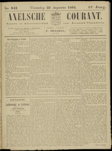 Axelsche Courant 1894-08-29
