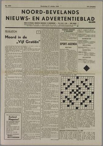 Noord-Bevelands Nieuws- en advertentieblad 1983-10-27