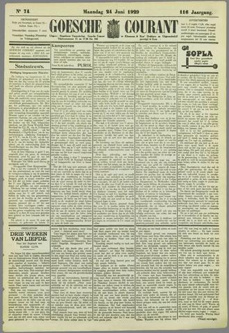 Goessche Courant 1929-06-24