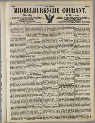 Middelburgsche Courant 1903-12-21