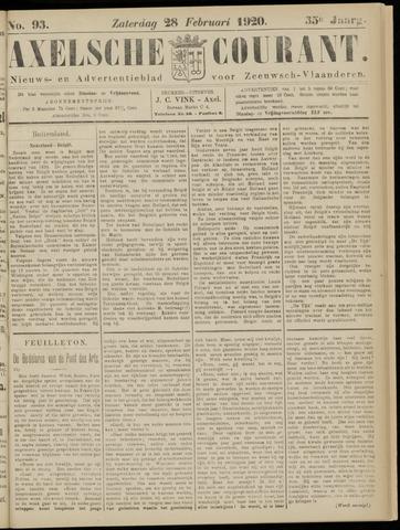 Axelsche Courant 1920-02-28