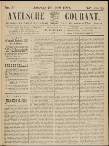 Axelsche Courant 1907-04-20