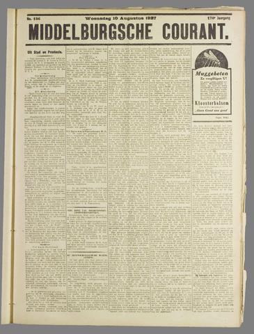Middelburgsche Courant 1927-08-10