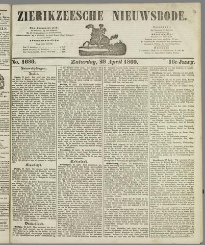 Zierikzeesche Nieuwsbode 1860-04-28