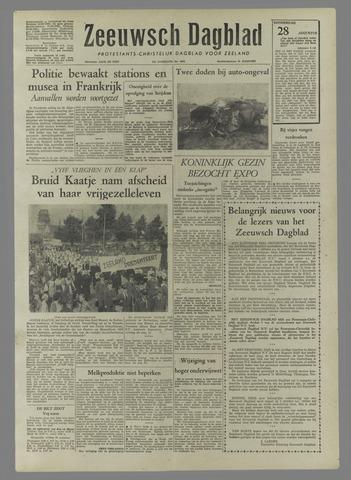 Zeeuwsch Dagblad 1958-08-28