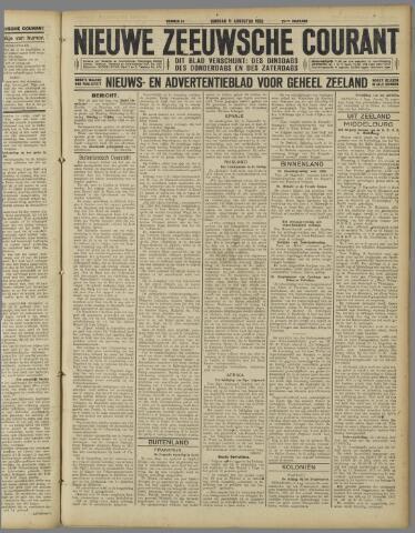 Nieuwe Zeeuwsche Courant 1925-08-11