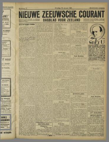 Nieuwe Zeeuwsche Courant 1921-01-18