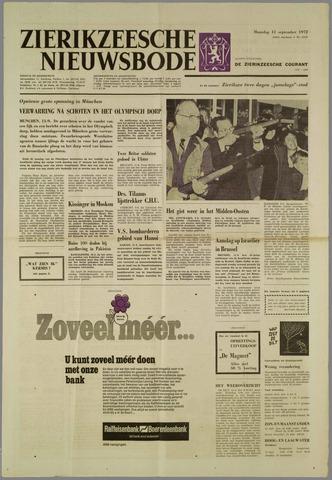 Zierikzeesche Nieuwsbode 1972-09-11
