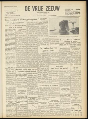 de Vrije Zeeuw 1957-08-06