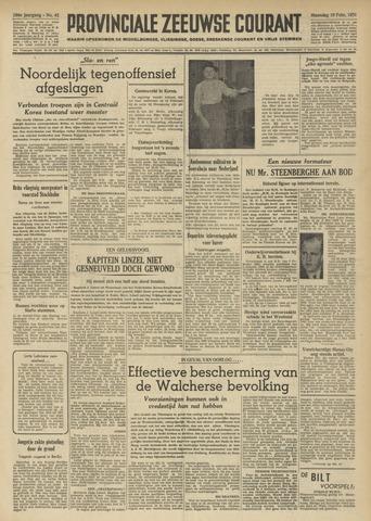 Provinciale Zeeuwse Courant 1951-02-19