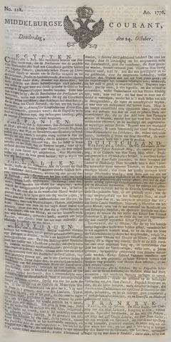 Middelburgsche Courant 1776-10-24