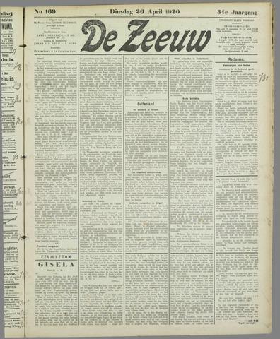 De Zeeuw. Christelijk-historisch nieuwsblad voor Zeeland 1920-04-20