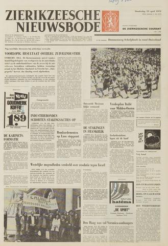 Zierikzeesche Nieuwsbode 1973-04-19