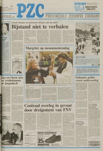 Provinciale Zeeuwse Courant 1992-09-12